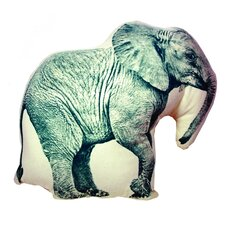 Mini Organic Cotton Elephant Cushion