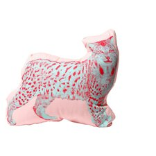 Mini Organic Cotton Lynx Cushion