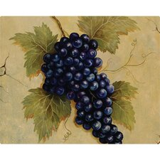 "12"" x 15"" Grapes Design Cutting Board"