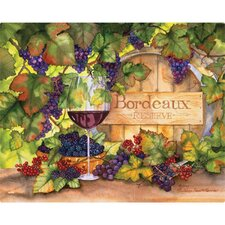 "12"" x 15"" Bordeaux Design Cutting Board"