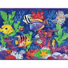 Tropical Fish Play Placemat