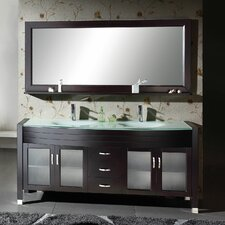 "71"" Ava Double Bathroom Vanity Set"