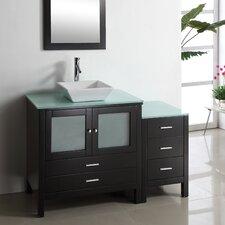 """Brentford 53.9"""" Single Bathroom Vanity Set"""