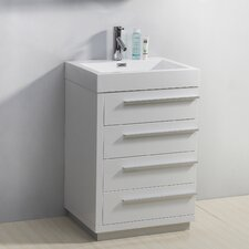 "Bailey 22.4"" Single Bathroom Vanity Set"