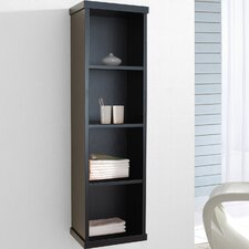 "<strong>Virtu</strong> Hewitt 47.2"" x 11.8"" Wall Mounted Bathroom Shelf"