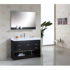 "Gloria 48"" Single Bathroom Vanity Set"