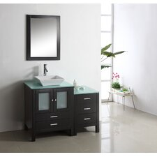 "Brentford 45.3"" Single Bathroom Vanity Set"