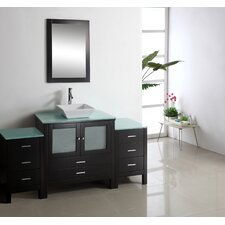 "Brentford 62.6"" Single Bathroom Vanity Set"