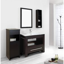 "Masselin 39.4"" Single Bathroom Vanity Set"