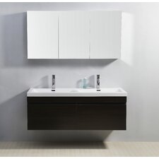 "Zuri 55"" Bathroom Vanity Set with Double Sink"