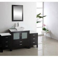 """Brentford 71"""" Single Bathroom Vanity Set"""