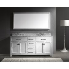 "Caroline 72"" Bathroom Vanity Set with Double Sink"