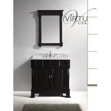 "Huntshire 35.8"" Single Sink Bathroom Vanity Set"
