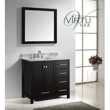 "Caroline Avenue 37"" Bathroom Vanity Set with Single Sink"