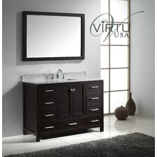 "Caroline Avenue 48.8"" Single Sink Bathroom Vanity Set"
