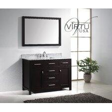 "Caroline 49"" Single Bathroom Vanity Set with Mirror"