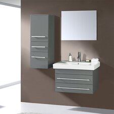 "Antonio Contemporary 27.6"" Bathroom Vanity Set"