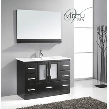 "47"" Single Bathroom Vanity Set with Mirror"