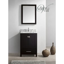"Caroline Avenue 24.8"" Single Sink Bathroom Vanity Set"