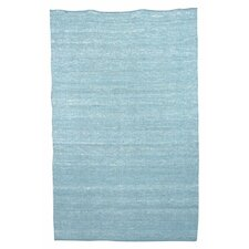 Flip Flop Berber Pool Blue Kids Rug