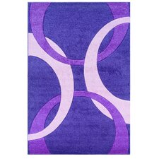 Corfu Light Purple/Baby Pink Kids Rug