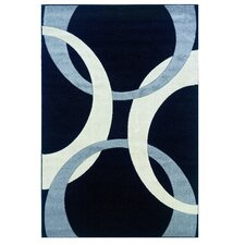 Corfu Black/Grey Kids Rug