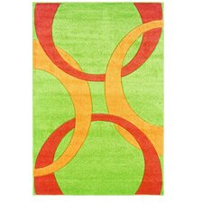 Corfu Lime/Goldenrod Kids Rug
