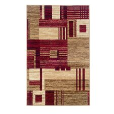 Capri Red Area Rug