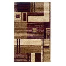 <strong>Linon Rugs</strong> Capri Brown/Rust Rug