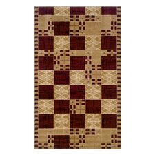 Dunaray Burgundy Rug