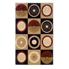Dunaray Beige/Black Rug