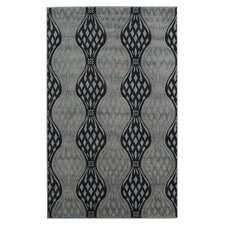 Milan Black/Gray Rug