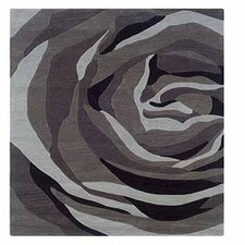 Trio With A Twist Grey/Charcoal Rug