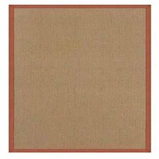 Athena Cork/Burnt Orange Area Rug