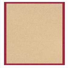 Athena Natural/Red Area Rug