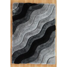 Links Grey Wave Rug