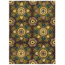 <strong>Linon Rugs</strong> Trio Chocolate Rug