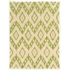 Trio Green/Ivory Rug