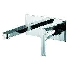 <strong>Fima by Nameeks</strong> Matrix Wall Mounted Bathroom Sink Faucet with Single Handle