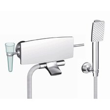 <strong>Fima by Nameeks</strong> De Soto Wall Mount Tub Only Faucet with Hand Shower