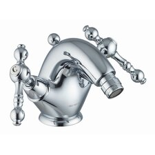 Epoque Double Handle Horizontal Spray Bidet Faucet with Single Hole