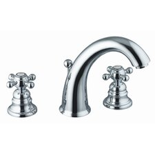 Elizabeth Widespread Bathroom Sink Faucet with Double Cross Handles