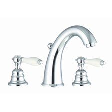 <strong>Fima by Nameeks</strong> Herend Widespread Bathroom Sink Faucet with Double Lever Handles