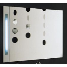 Dune Horizontal Mirror with Lamp