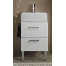 "<strong>Iotti by Nameeks</strong> Aurora 18.6"" Bathroom Vanity Set"