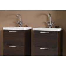 "<strong>Iotti by Nameeks</strong> Luna 20"" Fitted Ceramic Vanity Top"