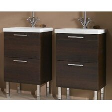 "<strong>Iotti by Nameeks</strong> Luna 19"" Bathroom Vanity Base"