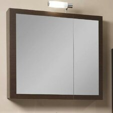 "Luna 30.9"" Medicine Cabinet With Mirrored Door"
