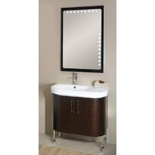 "<strong>Iotti by Nameeks</strong> Rondo 33.8"" Bathroom Vanity Set"