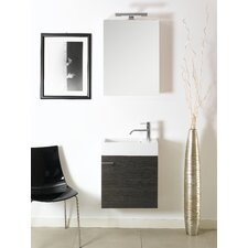 "Lola 21"" Wall Mounted Bathroom Vanity Set with Single Sink"